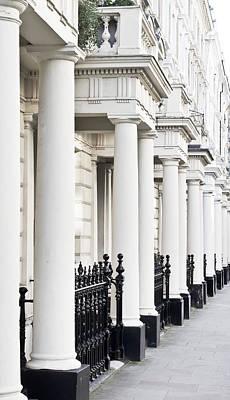 Upscale Photograph - Row Of Pillars by Tom Gowanlock