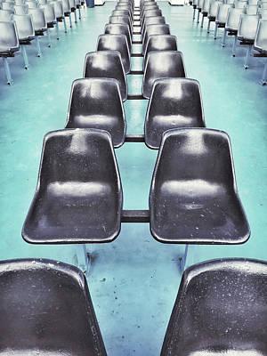 Row Of Seats  Art Print