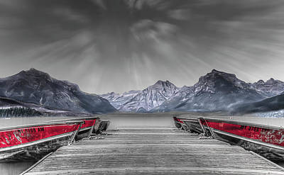 Photograph - Row Row by Mark Dunton