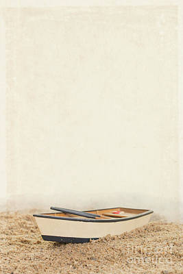Toy Boat Photograph - Row Row Row Your Boat by Edward Fielding