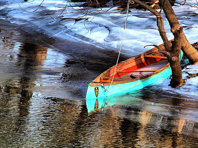 Row Your Boat Art Print by Valerie Morrison