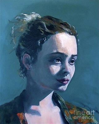 Painting - Rowan by Diane Daigle