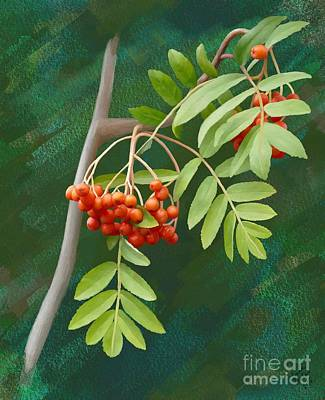 Painting - Rowan Tree by Ivana Westin