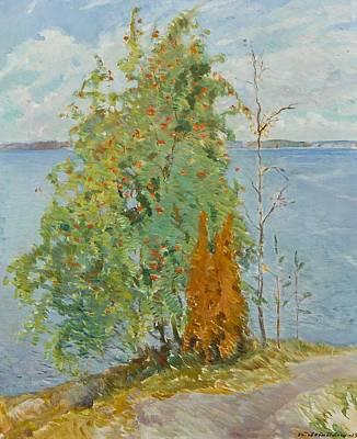 Rowans On The Shore Art Print