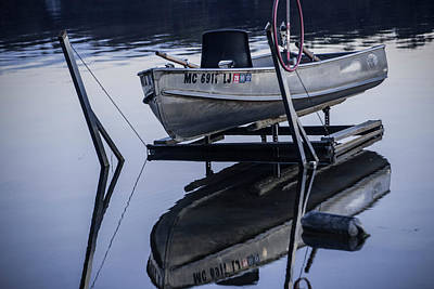 Photograph - Rowboat In Early Morning by Randall Nyhof