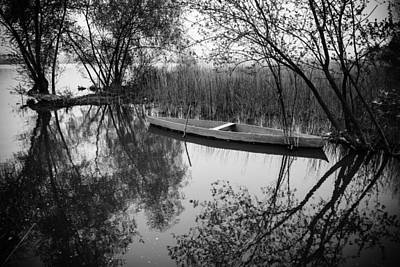 Photograph - Rowboat by Marco Oliveira