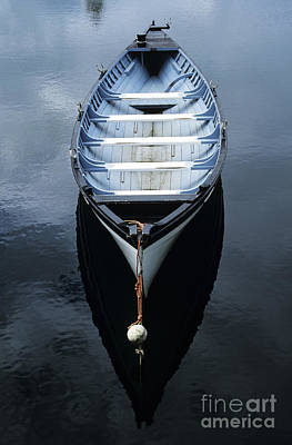 Photograph - Rowboat On Calm Water by Peter Stone - Printscapes