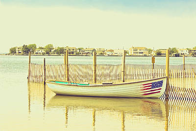 Photograph - Rowboat On Tranquil Waters by Colleen Kammerer