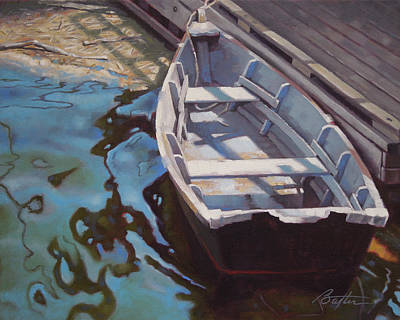 Rowboat One Print by Todd Baxter