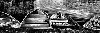 Photograph - Rowboats by David Patterson