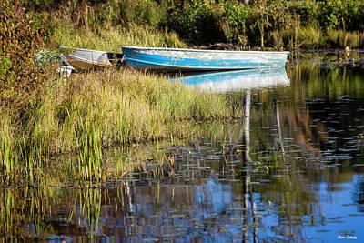 Photograph - Rowboats by Fran Gallogly