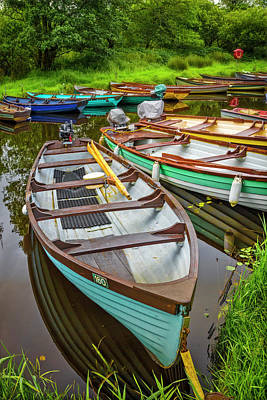 Photograph - Rowboats In Summer by Debra and Dave Vanderlaan
