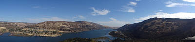 Photograph - Rowena Loops Viewpoint Panarama by Jacqueline  DiAnne Wasson
