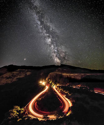 Photograph - Rowena Milky Way by Wes and Dotty Weber