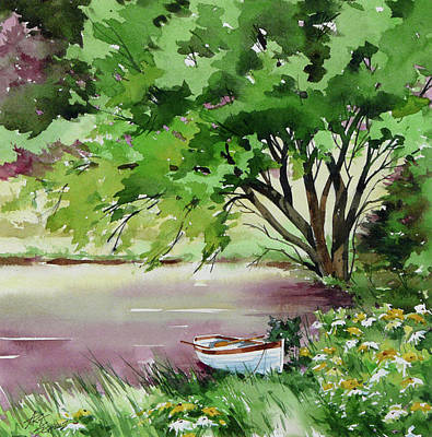 Painting - Rower's Rest by Art Scholz