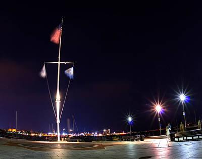Photograph - Rowe's Wharf 2635 by Jeff Stallard