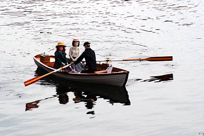 Photograph - Rowing Boat by Chris Day