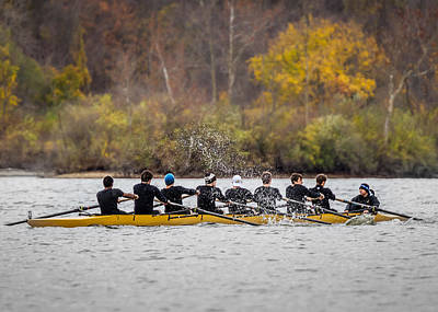 Photograph - Rowing Regatta by Ron Pate