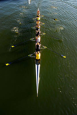 Photograph - Rowing Work 11 by David Lee Thompson