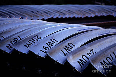 Photograph - Rows Of Canoes by Jim Corwin