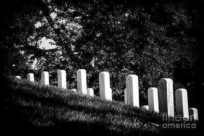 Photograph - Rows Of Honor by Paul W Faust - Impressions of Light
