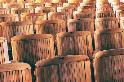 Photograph - Rows Of Seats by Todd Klassy
