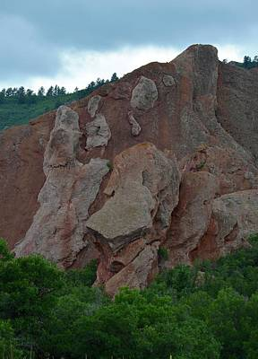 Photograph - Roxborough Rock Formation by Richard Bryce and Family
