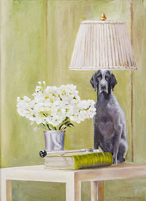 Painting - Roxy Being Bad by Denise H Cooperman
