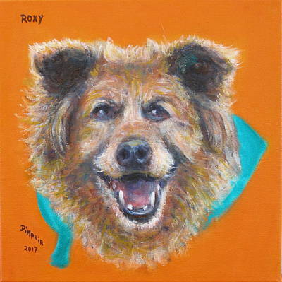 Painting - Roxy by Donelli  DiMaria