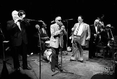 Tate Photograph - Roy Eldridge, Eddie Locke, Dick Katz, And Others by The Harrington Collection