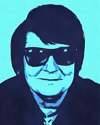 Roy Orbison Print by Dan Sproul