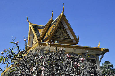 Photograph - Roy Palace Cambodia 06 by Andrew Dinh