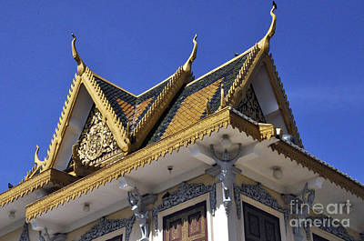 Photograph - Roy Palace Cambodia 07 by Andrew Dinh