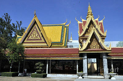 Photograph - Roy Palace Cambodia 08 by Andrew Dinh