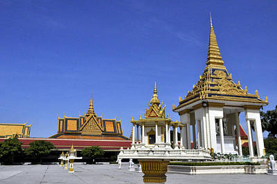 Photograph - Roy Palace Cambodia 10 by Andrew Dinh