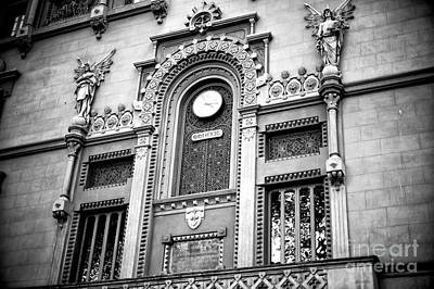 Photograph - Royal Academy Of Sciences And Arts Of Barcelona by John Rizzuto