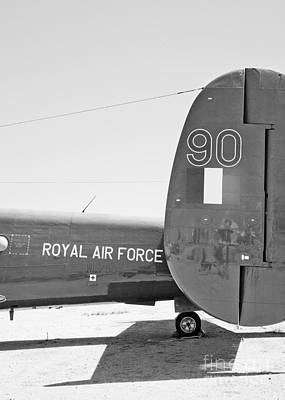 Photograph - Royal Air Force Aeroplane Tail by Chris Dutton