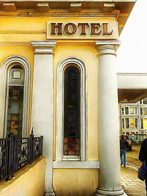 Photograph - Royal Albion Hotel Brighton by Dorothy Berry-Lound