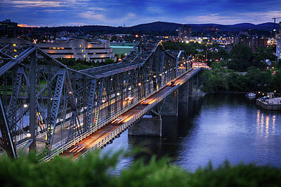 Photograph - Royal Alexandra Interprovincial Bridge by Tatiana Travelways