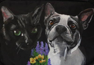 Painting - Royal And Belle by Carol Russell