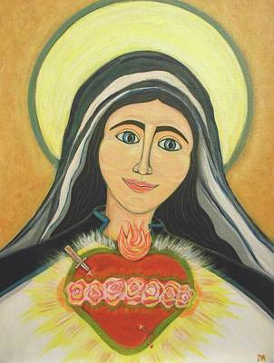 Royal And Immaculate Heart Of Mary Original