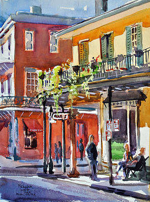 Mardi Gras Painting - Royal And St Peter Nola by Spencer Meagher