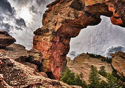 Photograph - Royal Arch Four by Kevin Munro