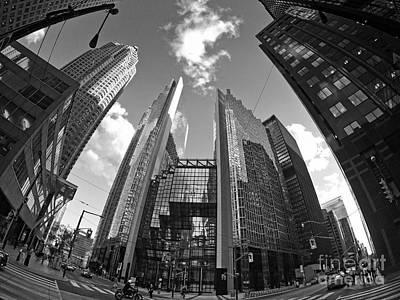 Photograph - Royal Bank Plaza Toronto by Charline Xia