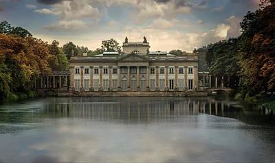 Photograph - Royal Baths In Warsaw by Jaroslaw Blaminsky