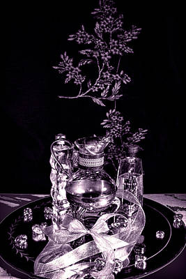 Decanters Digital Art - Royal by Camille Lopez