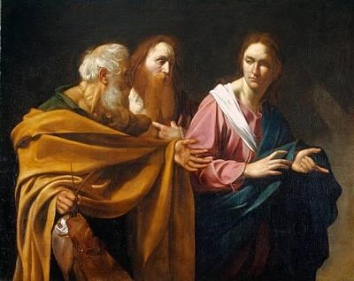 Caravaggio Painting - Royal Caravaggio by MotionAge Designs