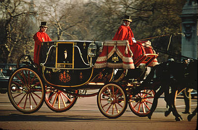 Photograph - Royal Carriage by Carl Purcell