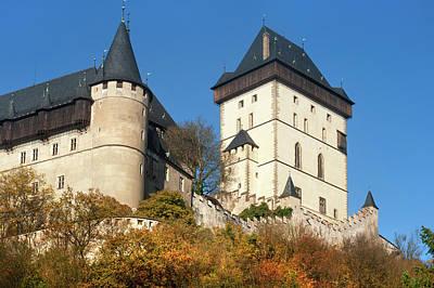 Photograph - Royal Castle Karlstejn In Autumn by Jenny Rainbow