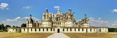 Photograph - Royal Chateau De Chambord by Weston Westmoreland